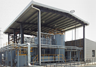 Picture of the modern wastewater treatment plant at production site in China for a globally leading agribusiness company